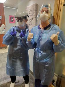 PPE at Bonnie Doon Dental Associates